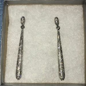 Charming Charlie long formal earrings